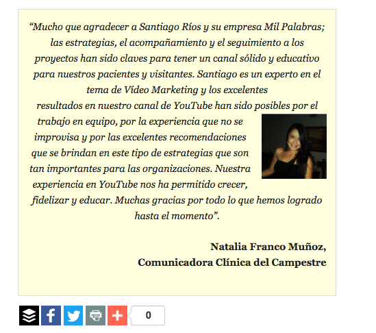 Marketing de contenidos youtube
