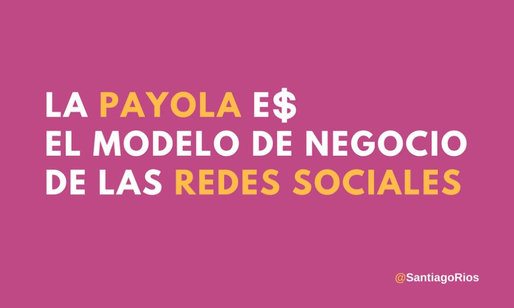 Payola en redes sociales N
