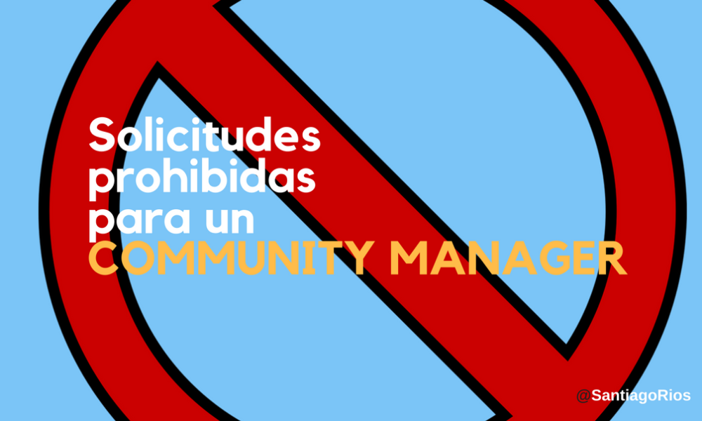 COMMUNITY MANAGER MP